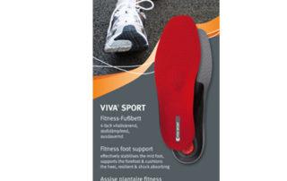 Спортивная стелька-супинатор Pedag Viva Sport 181