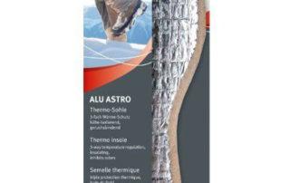 Ортопедическая стелька Pedag Alu Astro 117 зимняя