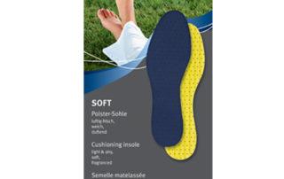 Ортопедическая стелька Pedag Soft 104 гигиеническая