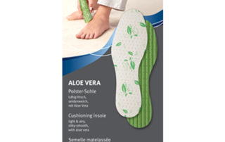 Стелька Pedog Aloe Vera 107 гигиеническая